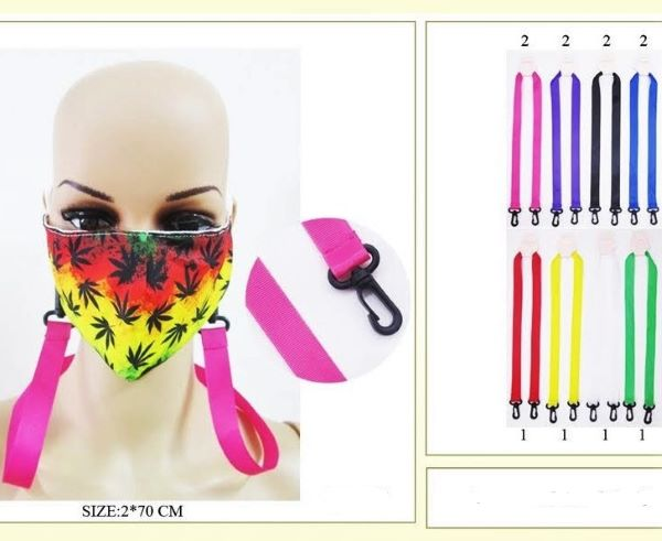 FACE MASKS ASSORTED COLORS